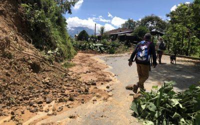 Emergencia en Ituango: más de 50 familias afectadas por derrumbes